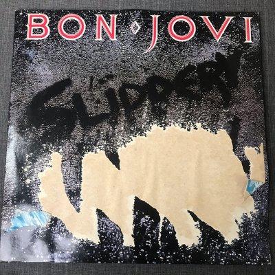 Bon Jovi – Slippery When Wet 黑膠 1986年 歐版 封面有損