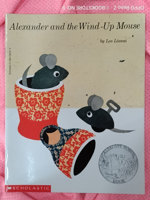 *NO.9 九號書店*Alexander and the Wind-Up Mouse 英文繪本童書 SCHOLASTIC