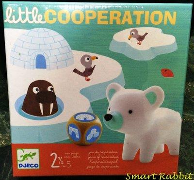 【點子兔】親子桌遊 法國 智荷 DJECO Little Cooperation 冰河歷險 附中文規則