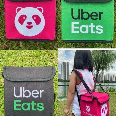 foodpanda 熊貓 Uber Eats 兒童背包 收納包 後背包