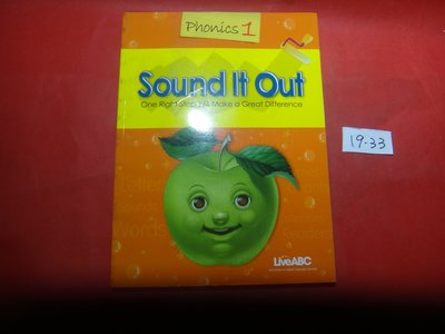 【愛悅二手書坊 19-33】Sound It Out Phonics1     LiveABC