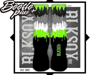 BEETLE PLUS 西門町 全新 現貨 VOLT DRIPS LUXURY SOCKS 冰淇淋 DC MONSTER BLKSOXINK
