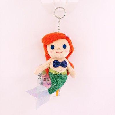 日本迪士尼Store限定商品 its a small world系列 小美人魚愛麗兒Ariel公主鑰匙圈吊飾