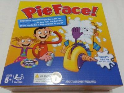 (財寶庫) 親子朋友聚會整人玩具創意桌游【拍臉機36P】瘋狂砸派機Pie Face奶油打臉機 Running Man遊戲