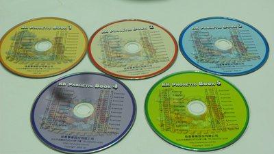 【彩虹小館】共6片CD~KK PHONETIC BOOK 1~6 佳音英語