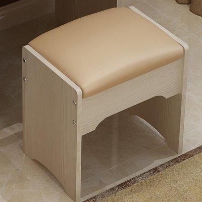 梳妝臺凳子家用臥室現代簡約網紅化妝換鞋小凳子化妝桌美容美甲椅 [免運✿貝貝海灘]