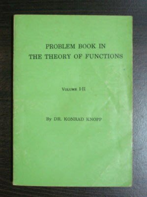 【二手原文書】 Problem Book in the Theory of Functions