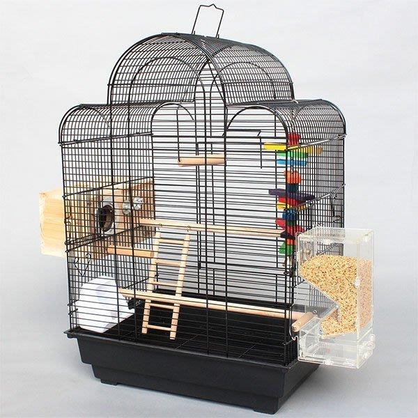 黃花梨紅木烏木酸枝鳥籠相思鳥靛頦紅子貝子繡眼玉鳥 方籠竹鳥籠子 寵物用品 鳥用品