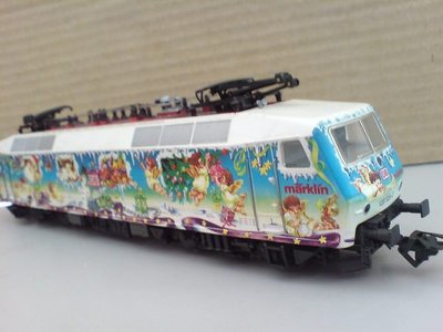 HO 37531 MARKLIN 限量 聖誕 紀念車DB BR 120(馬克林系統)
