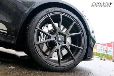 優路威公司貨 英國 ALCON CAR97 六活塞煞車系統 380MM碟盤BENZ W205 W207 C450 AMG