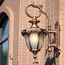 壁燈 歐式戶外防水美式復古室外庭院燈陽臺客廳過道走廊花園壁燈YGCN【全館免運】
