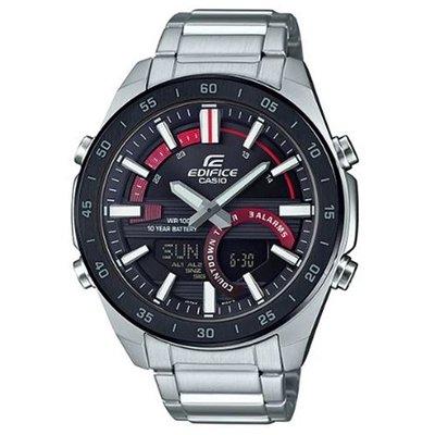 【eWhat億華】CASIO EDIFICE ERA-120DB-1AV 潮流賽車概念雙顯指針數位雙重顯示 手錶 平輸 現貨 ERA-120DB-1A  【1】