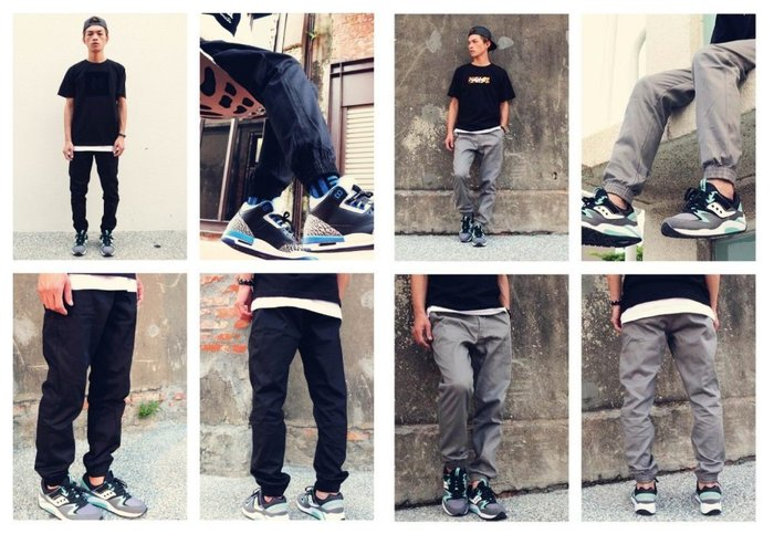 { POISON } MMONSTER 猛獸 15 A/W MMONSTER JOGGERS 束口褲 縮口褲