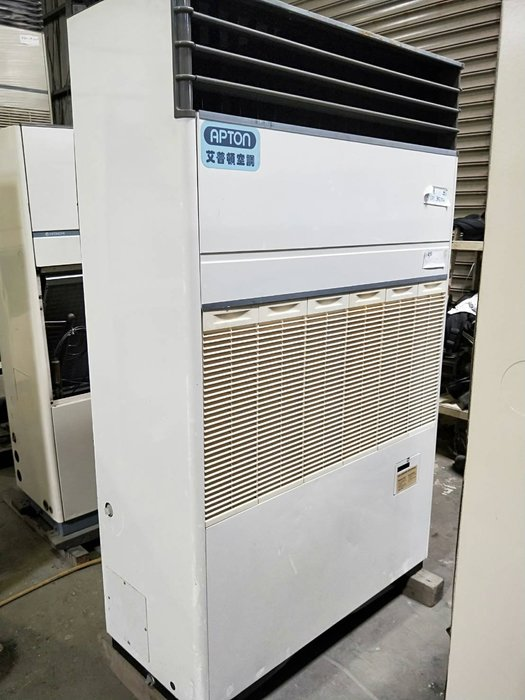 (大台北)中古艾普頓7.5RT水冷箱型機3φ220V(編號:AA1080201)~餐飲業空調皆適用~冷氣拆除回收買賣出租