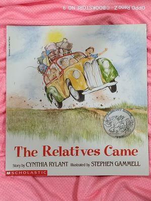 *NO.9 九號書店* The Relatives Came 英文繪本童書 SCHOLASTIC