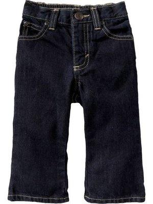 ╭☆°芒果衣櫃  新品美國OLD NAVY Dark-Wash Bootcut Jeans for Baby 4T 丹寧牛仔褲 現貨一件