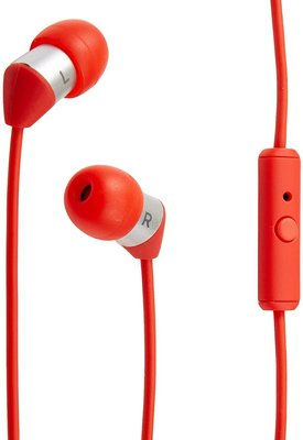 平廣 送袋 AKG Y23U 紅色 耳機 單鍵麥克風 輕型耳機 台灣公司貨保1年 ( Y20U 高階 5.8mm驅動單體
