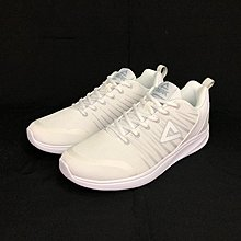 PEAK 慢跑鞋  休閒款  雪白  男+女 E73377H 亮禹體育PEAK台灣經銷商