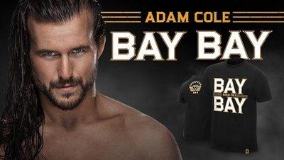 ☆阿Su倉庫☆WWE摔角 Adam Cole Bay Bay T-Shirt NXT巨星最新款 熱賣特價中