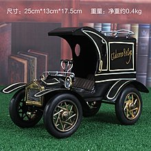 雷諾鐵皮汽車模型手工老爺車車模複古裝飾品懷舊老爺車(兩色可選)*Vesta 維斯塔*