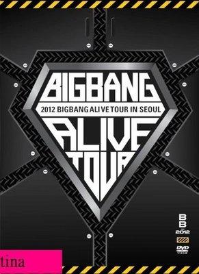 2012 BIGBANG Alive Tour In Seoul日本初回限定版首爾演唱會3DVD贈寫真集&花絮全新Big Bang GD&TOP