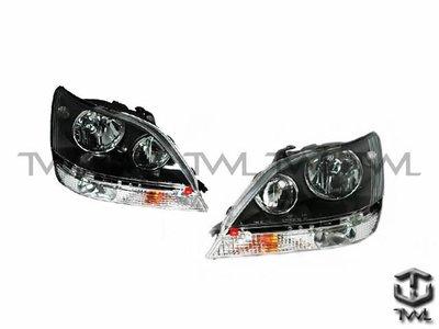 《※台灣之光※》LEXUS凌志RX-300 RX300 99 00年原廠型黑框大燈