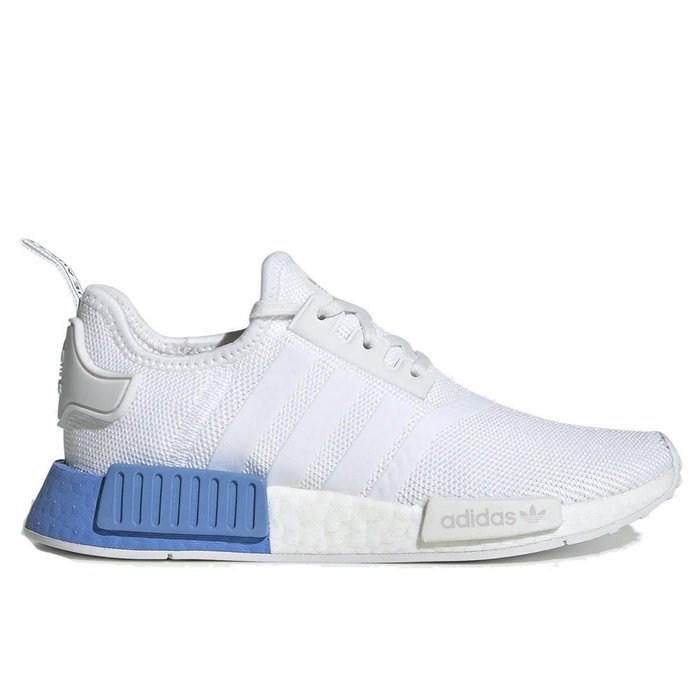 XinmOOn ADIDAS NMD R1 J EE6677 WHITE BLUE 襪套 慢跑鞋 網布 編織 白藍 女