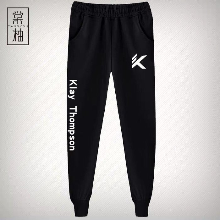 💥湯普森Klay Thompson運動籃球長褲💥NBA球衣勇士隊Nike耐克愛迪達健身訓練慢跑縮口純棉褲子男女955