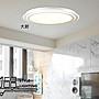 【168 Lighting】雙層圈《LED吸頂燈》(兩款)小款GE 81184-2