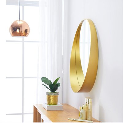 【Uluru】北歐設計師 掛鏡 鏡子 Loft 工業風 美式復古鏡 早午餐 餐廳 咖啡廳 客廳 浴室鏡子 裝飾 設計師