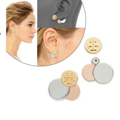【全新正貨私家珍藏】TORY BURCH Circle Cluster Ear Jackets Earrings 耳環