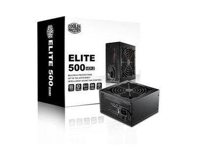【S03 筑蒂資訊】酷媽 Cooler master Elite V2 500W 電源供應器 RS500-PCARN1