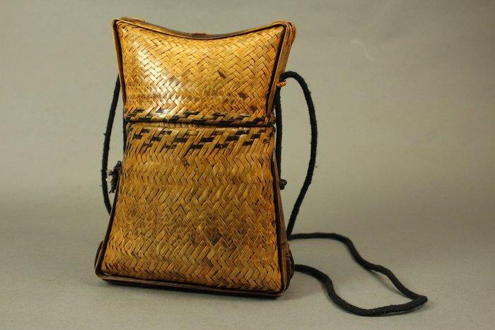 悅年堂 --- 民國 竹 編織 提盒