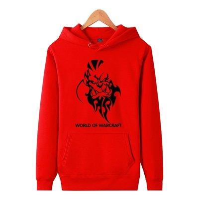 ~SeVeN Shop~ WOW魔獸世界#1~爐石戰記暴雪英霸~希瓦娜斯地獄吼凱爾薩斯~連帽T~加厚高磅刷絨毛鋪棉