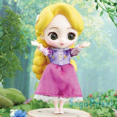 東京都-日本SEGA景品 迪士尼CUICUI premium doll 樂佩公主 部分可動 高約16公分 日版 現貨