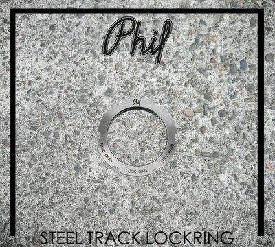 [Spun Shop] Phil Wood & Co. Steel Track Lockring 後齒迫緊環