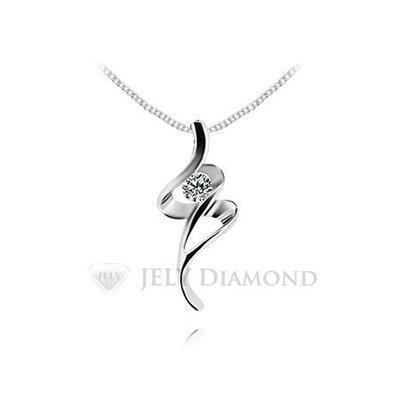 《JELY時尚館》【JELY Diamond】綺麗旅程---3分天然真鑽石項鍊 §會員終生獨享交換維修優惠§