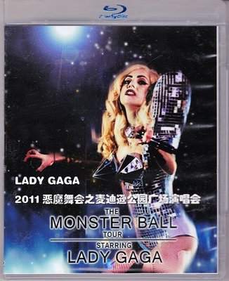 高清藍光碟 The Monster Ball Tour Starring Lady Gaga 2011巡回演唱會 25G
