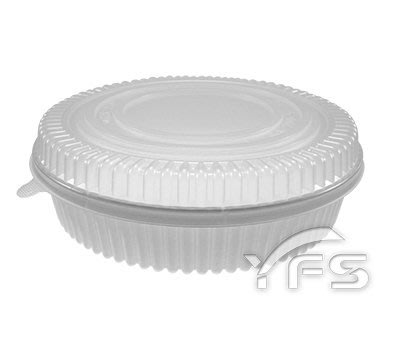 K200-5外燴餐盒(PP蓋)(2200ml) (年菜盒/煲湯鍋/魚翅羹/佛跳牆/大閘蟹/海鮮/熱炒/油飯)