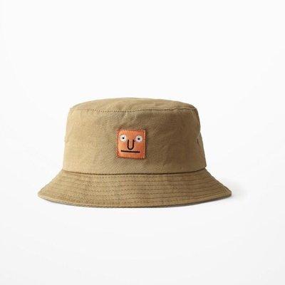 現貨?網紅自拍街拍款復古刺繡漁夫帽男女盆帽遮陽帽