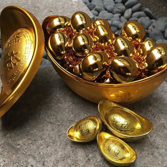 【樂提小舖】13026 金雞蛋 過年飾品 金雞蛋飾品金雞蛋道具 新年飾品 招財擺飾 春節飾品 求財金雞母 開運擺飾