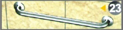 """不銹鋼安全扶手-23 C型扶手1 1/2"""" 長度60cm (1.5""""*1.2mm)扶手欄杆 衛浴設備"""