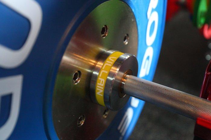 【神拳阿凱】Villain 奧林匹克舉重槓鈴 女用槓 15kg 運費貨到付款