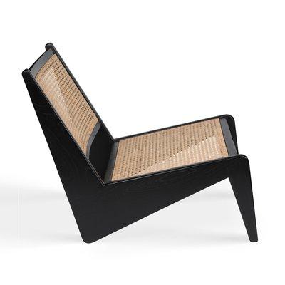 【台大復古家居_德式極簡】袋鼠椅 Kangaroo chair 昌迪加爾 倒V藤編【Chandigarh】Cassina