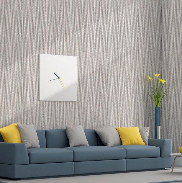 簡約條紋無紡布牆紙 素色時尚臥室客廳壁紙 餐廳走廊過道百搭牆紙