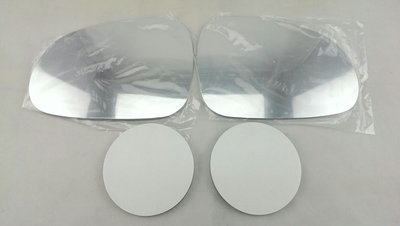 ~HDS~大宇 台塑2號 MATIZ 台朔2號 白鉻鏡片 一組 左 右 廣角 貼黏式  後視鏡片 後照鏡片 後視鏡 玻璃