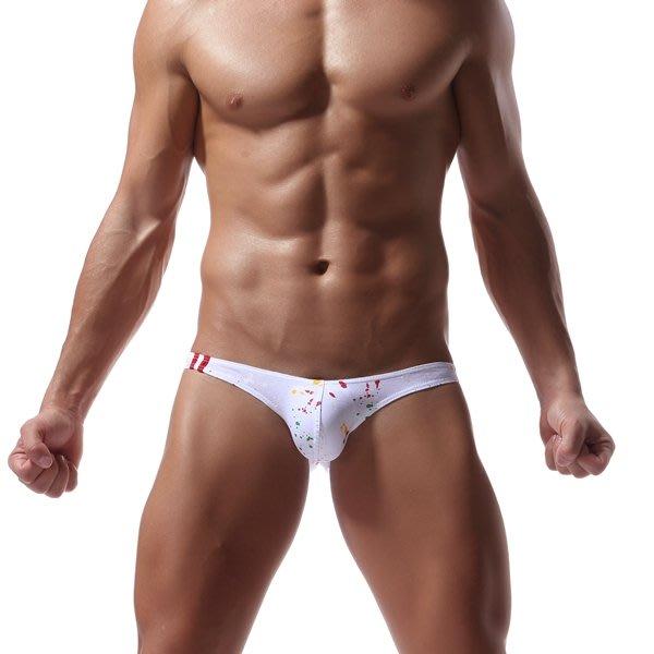 560461 CIOKICX 噴漆彩點三角內褲 男性內著 內衣 背心 三角 丁字 後空 運動褲 泳褲 HITOMEN