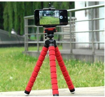 大號海綿手機支架 便攜八爪魚 手機 卡片 微單相機章魚 迷你三腳架 953