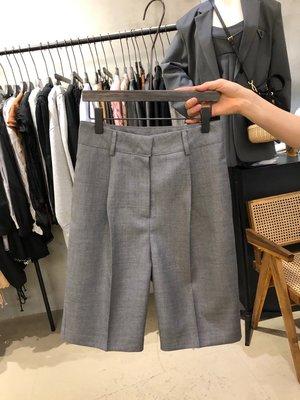 iven正韓專櫃韓國東大門2020夏季新款高腰顯瘦西裝褲直筒五分褲氣質休閒短褲女