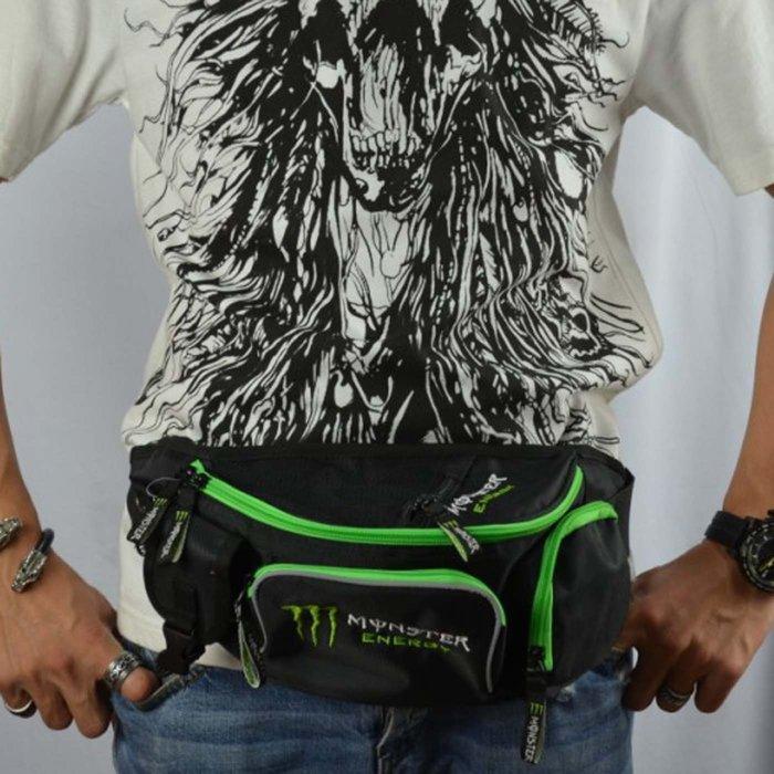 【購物百分百】最新款騎行腰包 KAWASAKI摩托車包 自行車包 戶外胸包 騎士包